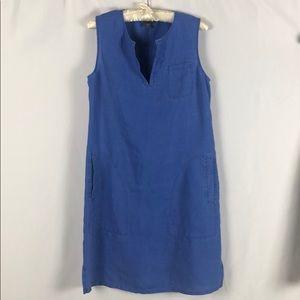 Tommy Bahama Sleeveless Linen Shift Dress Size XS